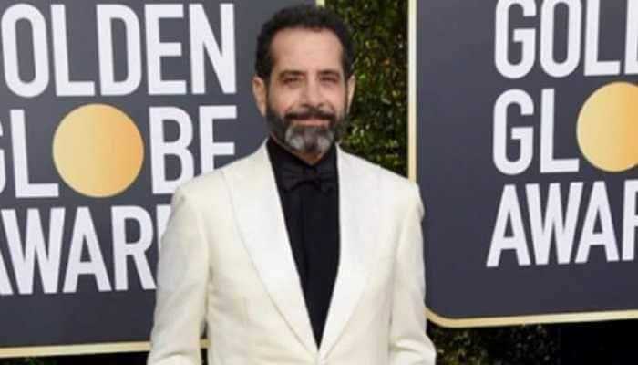 Tony Shalhoub takes an Emmy for 'The Marvelous Mrs. Maisel'