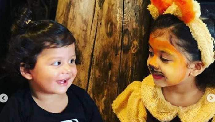 Misha and Zain 'roar' in Mira Rajput's latest Instagram pictures- See pic