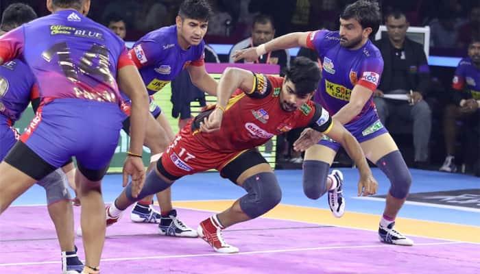 PKL 7: Bengaluru Bulls, Dabang Delhi play out enthralling draw