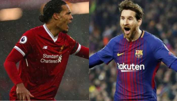 You can't compare me and Lionel Messi, says Liverpool's Virgil van Dijk after FIFA awards