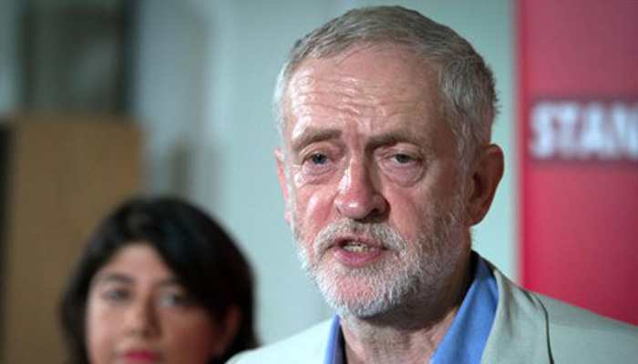 Resign for misleading Britain, Labour Party leader Jeremy Corbyn tells UK PM Johnson