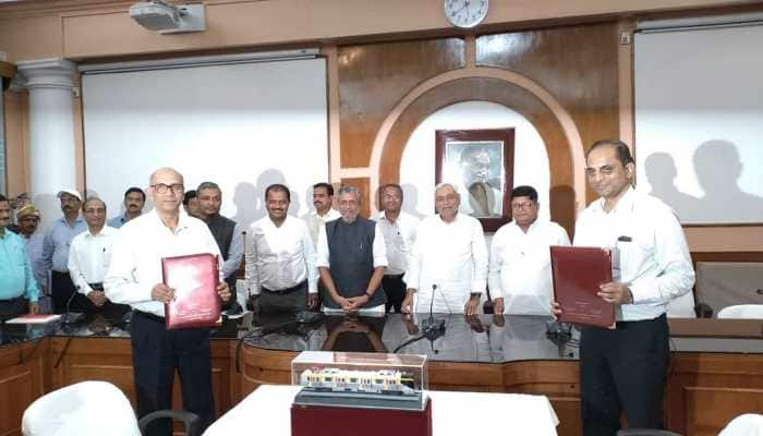Bihar government inks MoU with DMRC for Patna Metro Rail Project