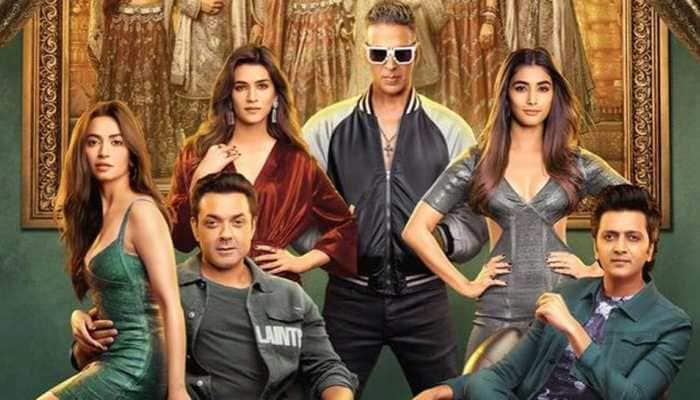 Housefull 4: Akshay Kumar, Kriti Sanon and gang entice in new poster