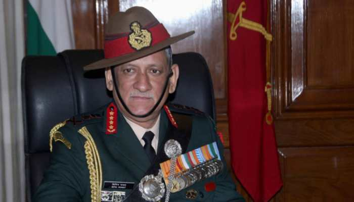 Army Chief General Bipin Rawat to take over as Chairman, Chiefs of Staffs Committee on September 27