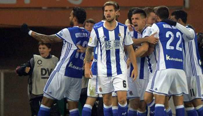 La Liga: Real Sociedad march on, Sevilla floored by Eibar fightback