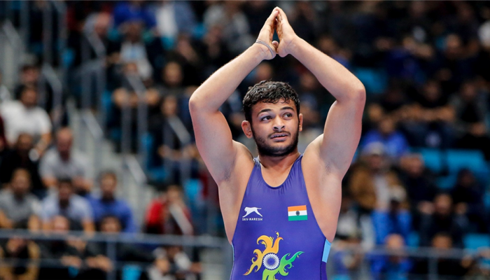 Wrestler Deepak Punia climbs to No.1 spot in rankings, Vinesh Phogat occupies second place