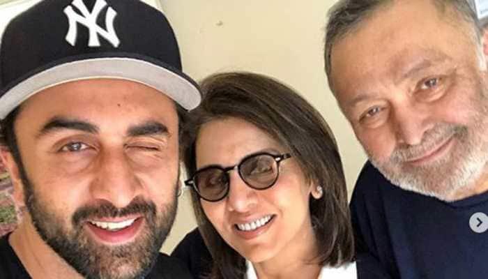 Neetu Kapoor shares childhood pictures of Ranbir Kapoor on his birthday