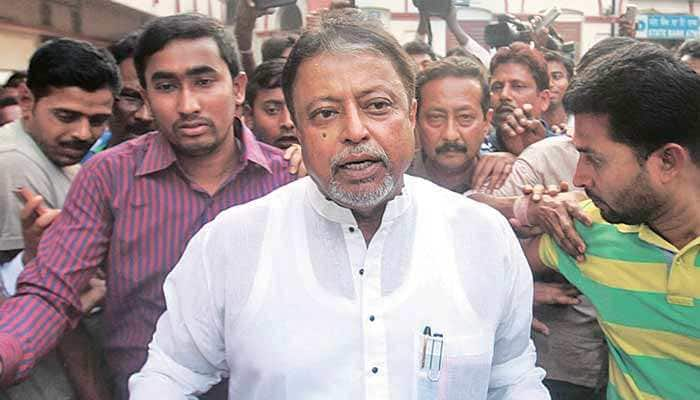 BJP leader Mukul Roy accuses West Bengal Chief Minister Mamata Banerjee of conspiring against him in Narada sting case
