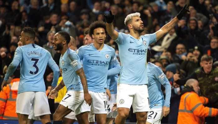 Premier League: Gabriel Jesus, Raheem Sterling score as Manchester City overcome Everton