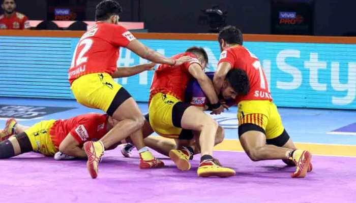 PKL 7: Gujarat Fortunegiants thrash Tamil Thalaivas 50-21