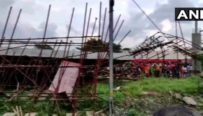 One dead, six injured after railway shed collapses in West Bengal's Shalimar Railway Station
