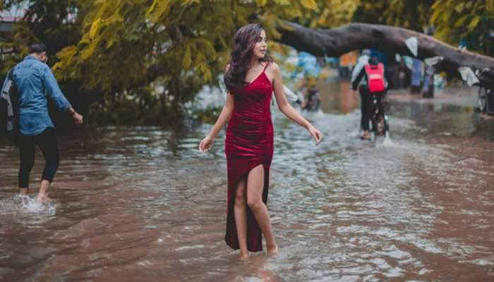 'Mermaid in disaster': Woman's photoshoot on flooded Patna roads goes viral