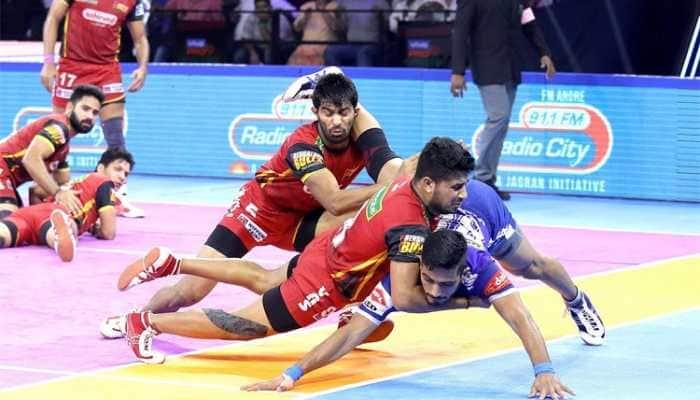 PKL 7: Pawan Sehrawat stars as Bengaluru Bulls beat Haryana Steelers 56-39