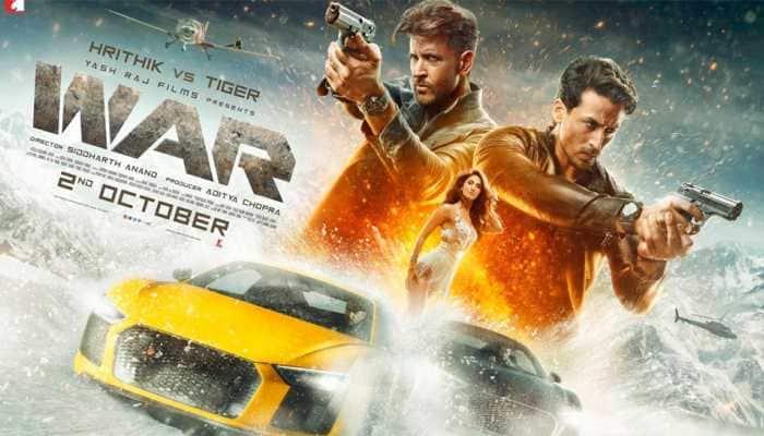 Hrithik Roshan-Tiger Shroff starrer 'War' Day 1 collection break Aamir Khan's 'Thugs Of Hindostan' record at Box Office