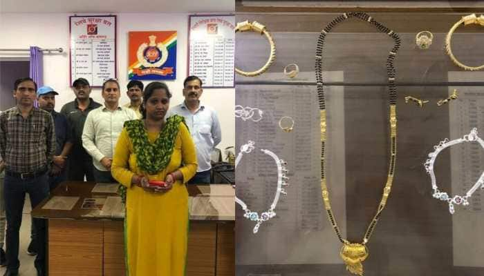 Railway police arrests lady thief in Delhi, jewellery worth Rs 2.5 lakh recovered