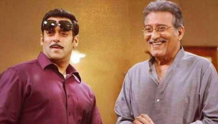 Salman Khan pays tribute to late Vinod Khanna on 'Dabangg 3' wrap up | People News | Zee News