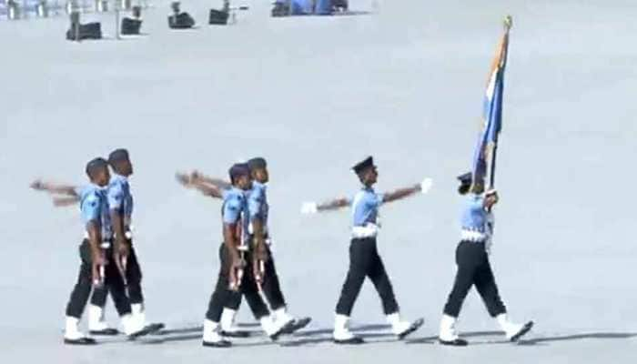 IAF celebrates 87th anniversary at Hindon Air Force Station — Watch