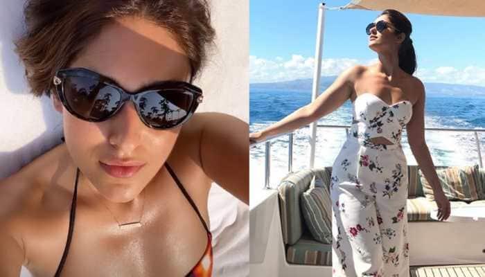 Ileana D'Cruz slips into a bikini, flaunts her perfectly toned body —Pics