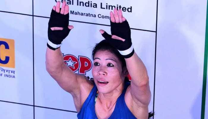 Mary Kom reaches 51kg semi-final, becomes 1st boxer to win 8th World Championships medal