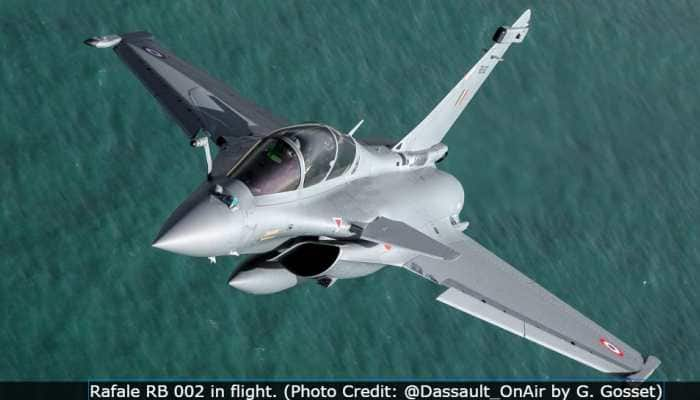 Dassault Aviation releases photos of IAF Rafale RB 002