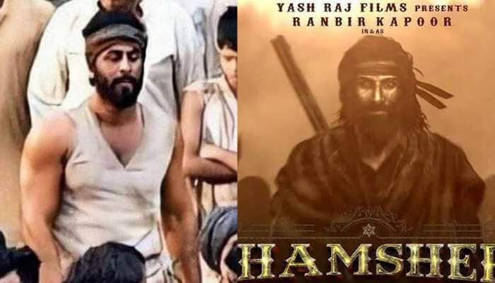 Ranbir Kapoor looks unrecognisable in these leaked pics from 'Shamshera' sets—See inside