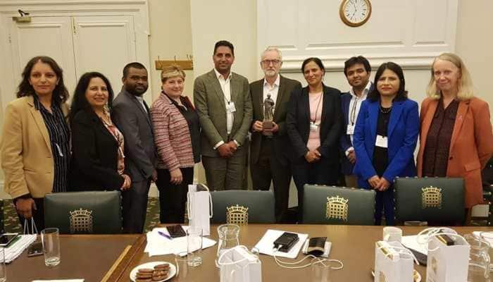 Congress delegation meets UK Labour Party chief Jeremy Corbyn to 'discuss Kashmir', BJP calls it appalling