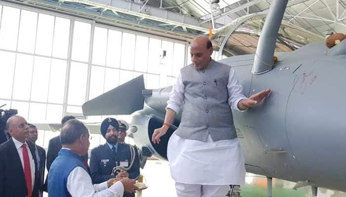 This is our faith, people can say whatever they want: Rajnath Singh on criticism over Rafale 'shastra puja'
