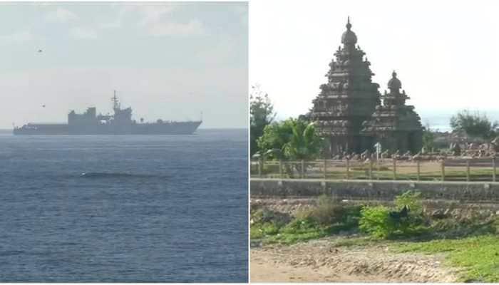 Navy, Coast Guard deploy warships for security ahead of PM Modi-President Xi Jinping meeting in Mahabalipuram