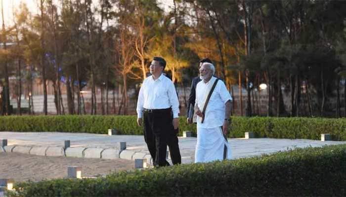 PM Narendra Modi, Xi Jinping meet in Mahabalipuram, discuss trade and terrorism over dinner