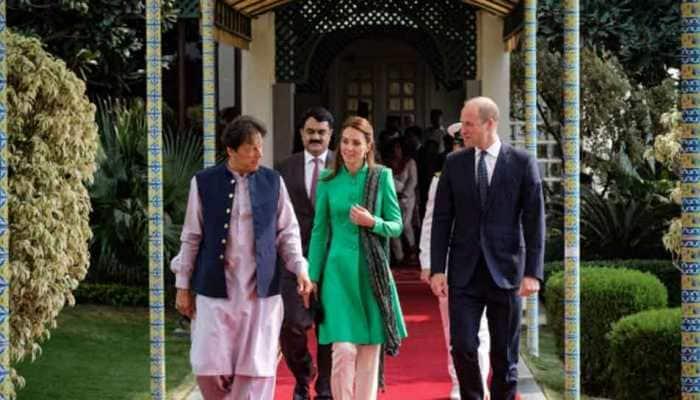 Kate Middleton shows off her stunning traditional wardrobe during Pak visit
