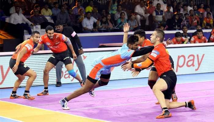 Pro Kabbadi League: Bengal Warriors pip U Mumba 37-35 to enter final