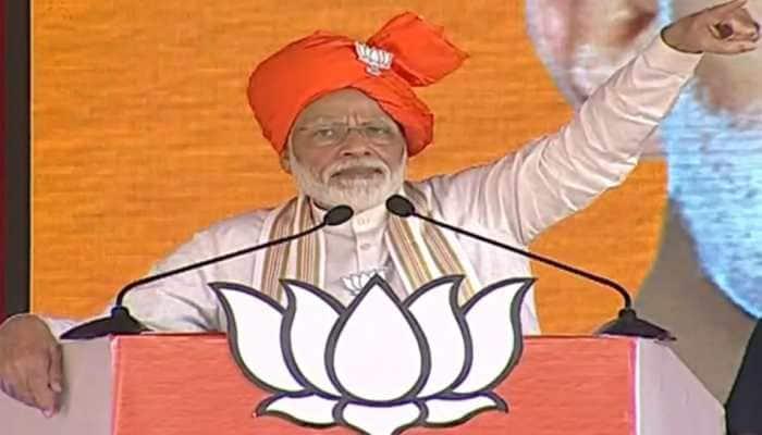 Congress leaders' statements on Jammu and Kashmir have helped Pakistan: PM Narendra Modi
