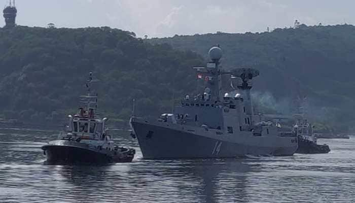 India-Myanmar Naval Exercise commence on-board INS Ranvijay