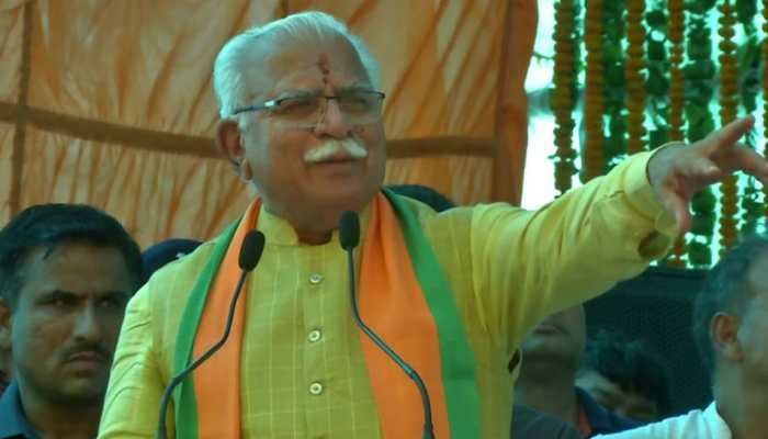 Zee News Maha Exit poll predicts big win for Manohar Lal Khattar-led BJP government in Haryana