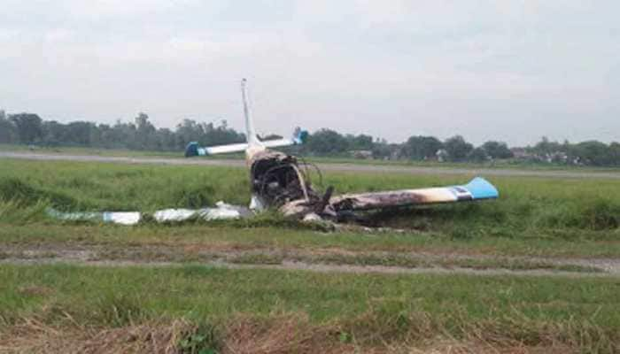 Trainee aircraft crashes in Amethi, pilot escapes unhurt