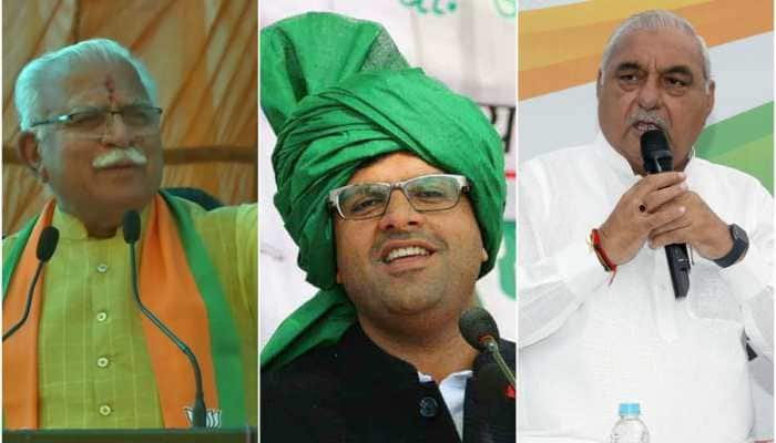 As Haryana votes for hung assembly, here are three options how BJP, Congress and 'kingmaker' JJP can form government
