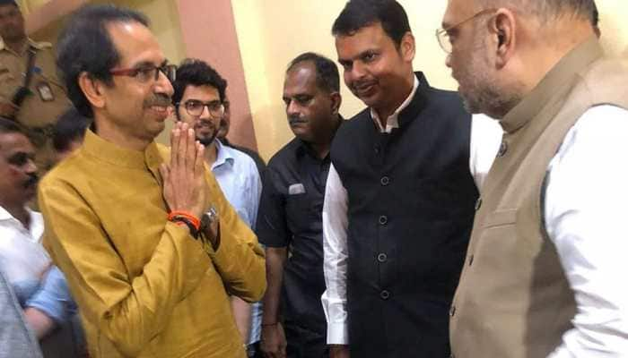 Maharashtra: Uddhav Thackeray calls meeting with Shiv Sena leaders on government formation, BJP to discuss about 50-50 formula