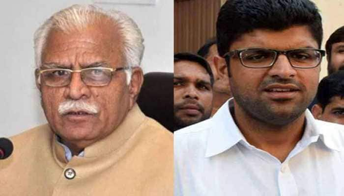 Manohar Lal Khattar to take oath as Chief Minister for second term on Sunday, JJP's Dushyant Chautala named Deputy Chief Minister