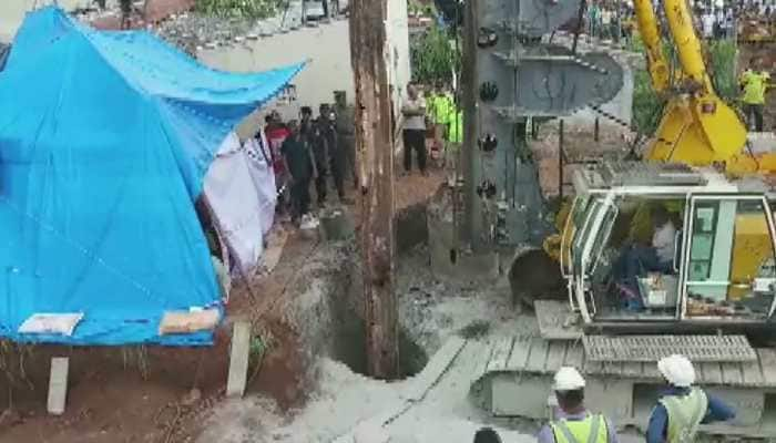 Rescue efforts underway to save 2-year-old Sujith trapped in a borewell for over 75 hours