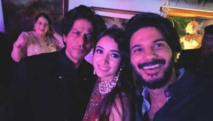 Dulquer Salmaan 'starstruck' after meeting Shah Rukh Khan