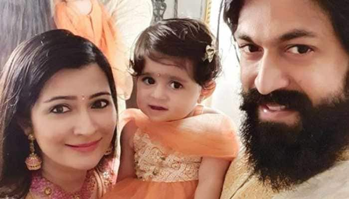 KGF actor Yash and Radhika Pandit welcome second child