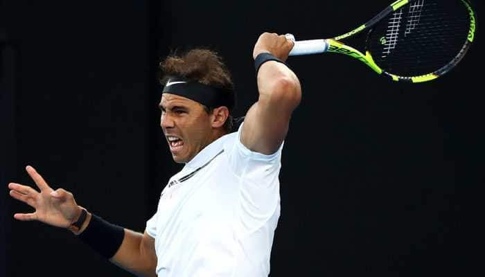 Rafael Nadal holds off France's Adrian Mannarino to reach Paris Masters second round