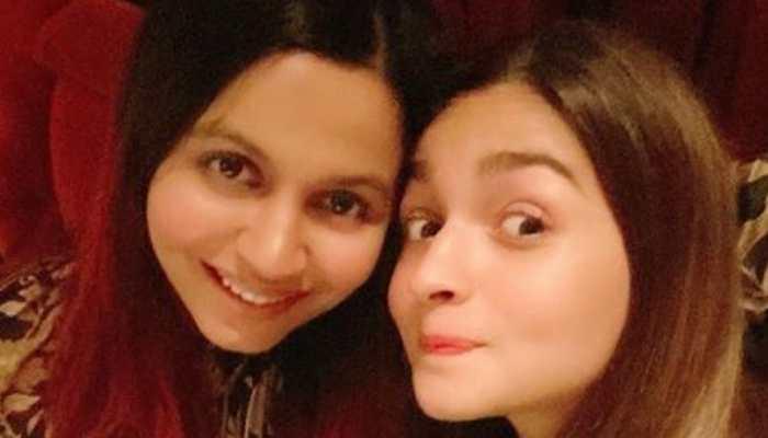 Alia Bhatt shares the cover of sister Shaheen Bhatt's book 'I've Never Been (Un)Happier'