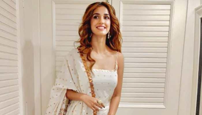 Disha Patani flaunts her desi look for 'Radhe' muhurat puja—Pics inside