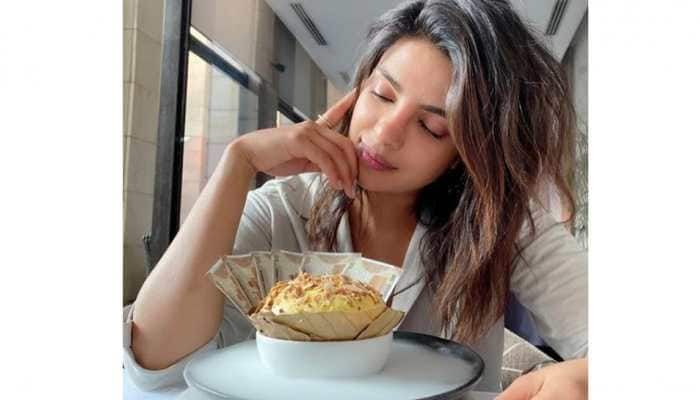 Priyanka Chopra savours her first Daulat Ki Chaat while shooting for 'The White Tiger'