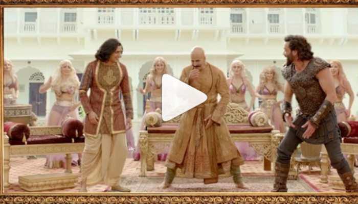 Akshay Kumar shares a fun BTS video from 'Bala' song—Watch