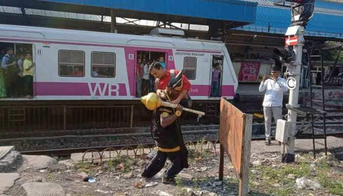 Western Railway deploys 'Yamraj' to teach commuters on rail safety
