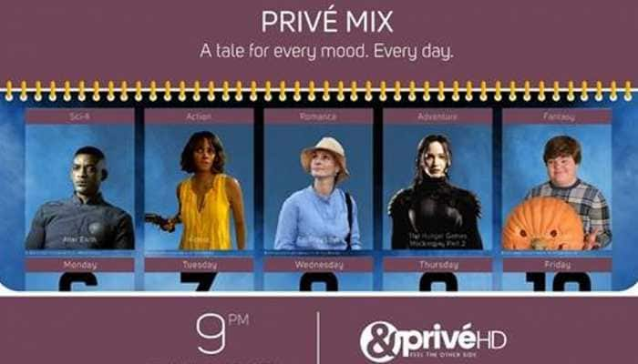 &PrivéHD brings a collection of tales for every mood with Privé Mix