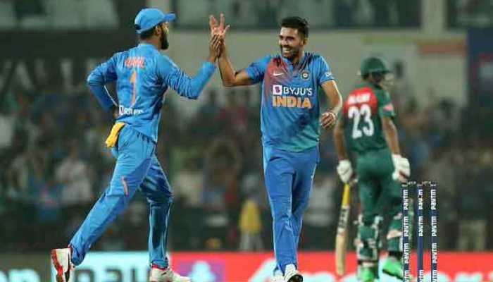 Nagpur T20I: Shivam, Deepak guide India to 30 runs win over Bangladesh