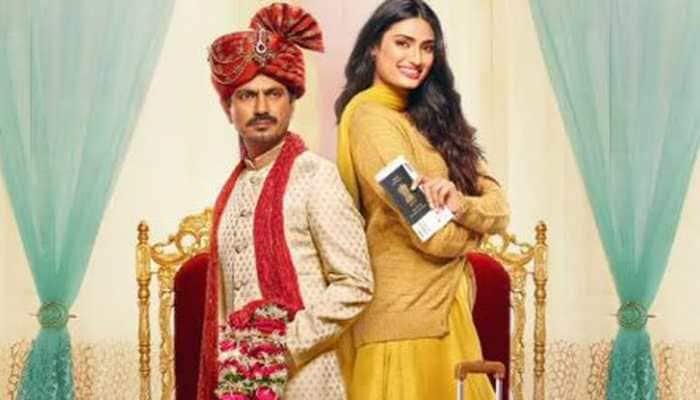 Motichoor Chaknachoor movie review: Athiya Shetty-Nawazuddin Siddiqui starrer is humour in a time warp